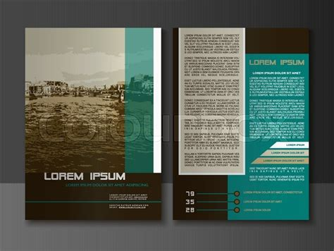 leaflet page layout modern style brochure and flyer design templates creative