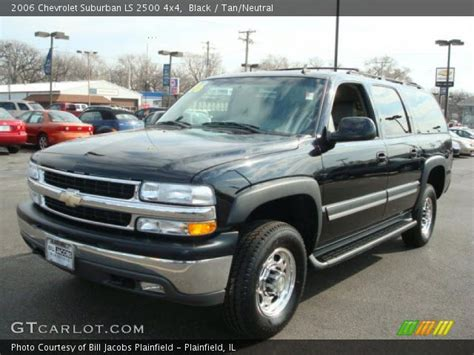 2006 Chevy Suburban by Black 2006 Chevrolet Suburban Ls 2500 4x4 Neutral
