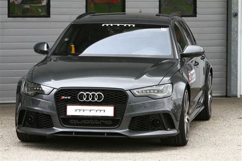 Audi Rs6 Avant Mtm by Audi Rs6 Avant By Mtm Packs 722 Hp Autoevolution