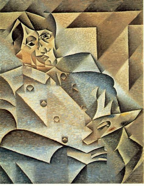 picasso geometric paintings portrait of pablo picasso juan gris 1912 silver