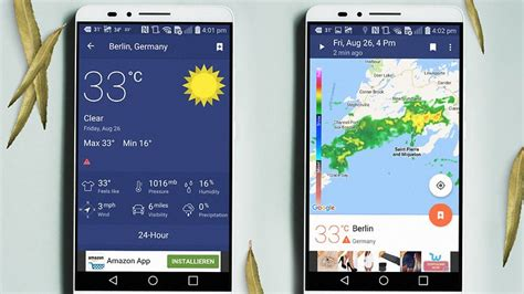 weather apps for android phones 10 best weather apps and widgets for android androidpit