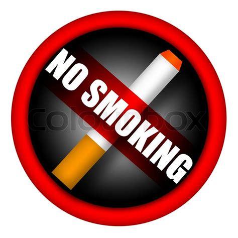 no smoking sign hackintosh no smoking sign isolated on white background stock photo
