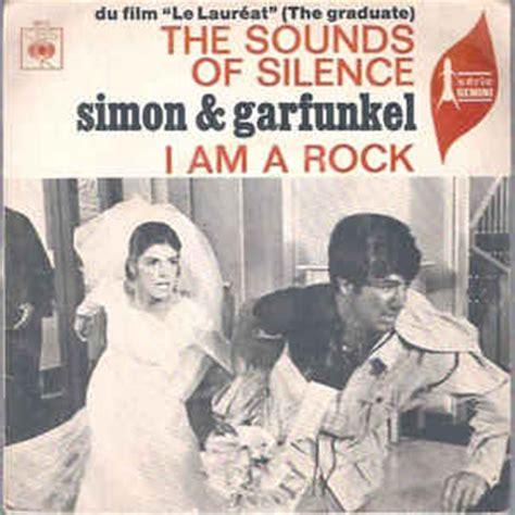 i am rock simon garfunkel the sounds of silence i am a rock at