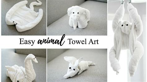 Animal Towel how to make towel animals towel tutorial for
