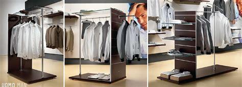 primo arredamenti negozi 12 abbigliamento uomo camiceria pannelli espositivi arredi