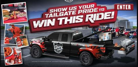 Franks Red Hot Sweepstakes - frank s redhot 174 invites you to show your tailgate pride to win a customizable