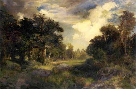 long island landscape oil on canvas by thomas moran 1837