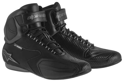 alpinestars shoes alpinestars faster wp shoes revzilla