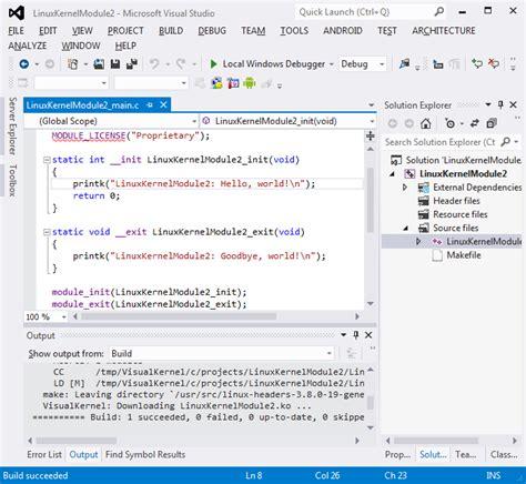 tutorial linux kernel module building a linux kernel module using a second machine