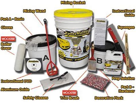 EpoxyMaster? ?Do it yourself? floor paint coating kit