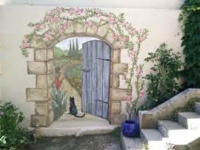 Garden Wall Mural Best 25 Garden Mural Ideas On Pinterest Hippie Garden