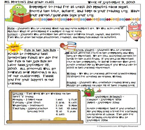 Free Teacher Newsletter Templates Downloads Fayetteville State University Elem 455 Teaching Newsletter Planning Template