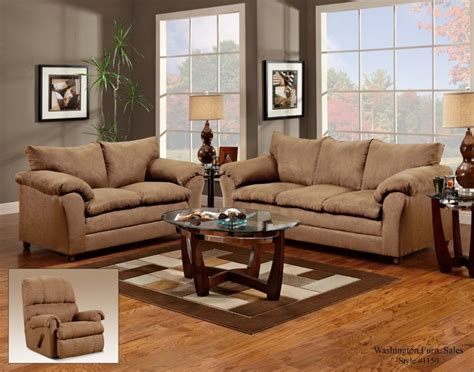 Victory Lane Taupe Sofa And Loveseat 1150taupevl Living Room Sofa And Chair Sets