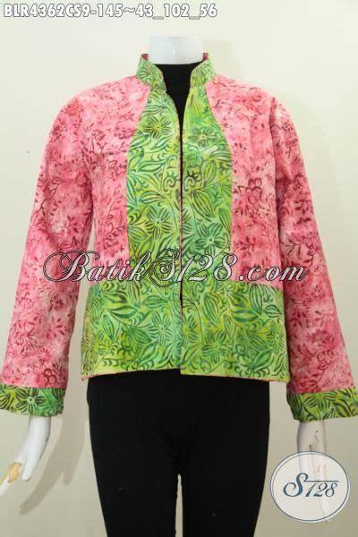 desain baju batik remaja putri baju batik balero desain bolak balik dengan kombinasi