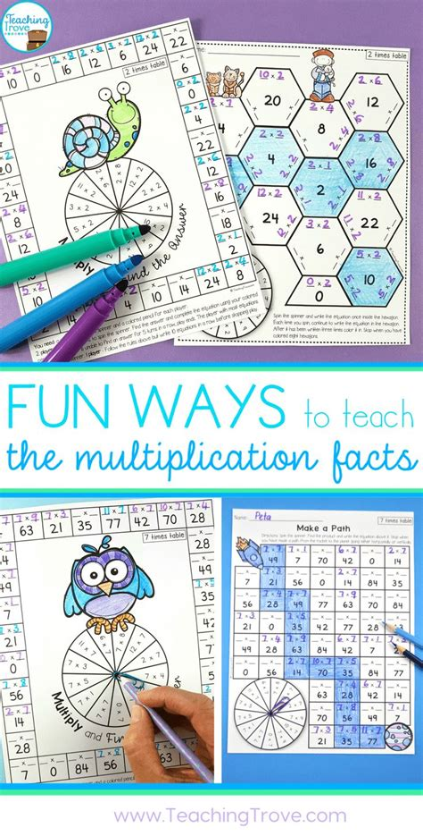 how to teach multiplication tables 25 best multiplication tables ideas on