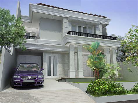 Wallpaper Dinding Klasik Mewah Modern contoh desain rumah modern klasik yang mewah warnacat net