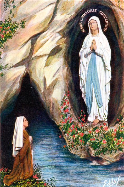 madonna di lourdes children s rosary a lesson from our lady of lourdes