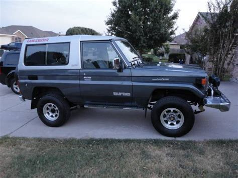 1988 Toyota Value Classic 1988 Toyota Land Cruiser Bj74 For Sale Detailed