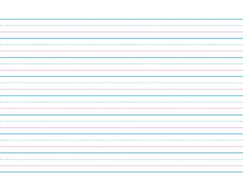 lined writing paper for 2nd grade dashed line paper lined paper