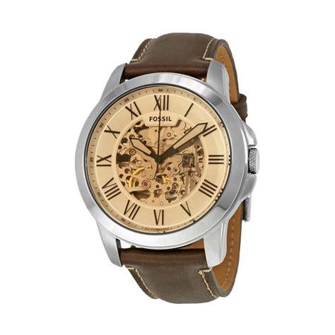 Jam Tangan Fossil Me 3029 Grant Automatic jual fossil me3122 grant automatic skeleton jam tangan pria silver brown harga