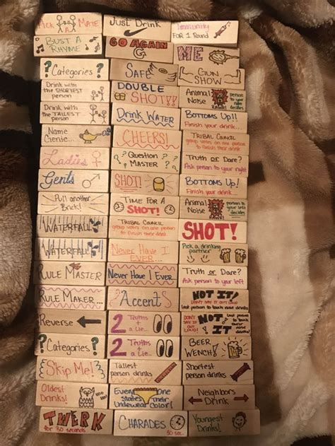 Or Jenga For Adults 25 Best Ideas About Jenga On And