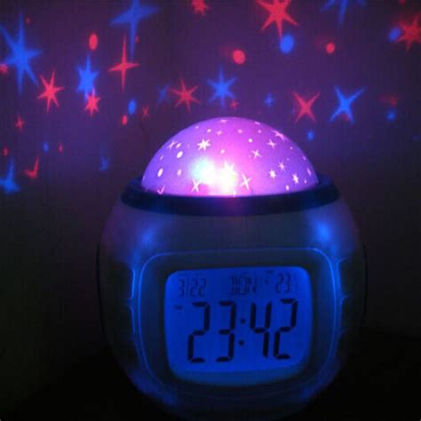 baby kids clock night light crazy stealz