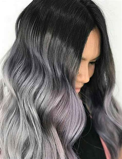 long black hair color ideas hairstyle ideas magazine 20 amazing dark ombre hair color ideas blushery