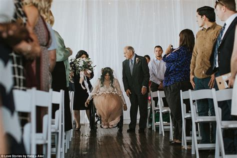 Wedding Aisle On Pool by Paralyzed From Swimming Walks