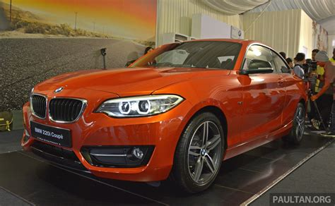 bmw 220i price bmw 2 series coupe launched 220i from rm260k image 241596