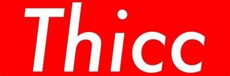 Kaos T Shirt Supreme Font White Bordir 1 quot thicc sticker supreme box logo thick quot stickers by