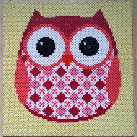 perler bead patterns owl 1000 images about crafts owls on perler bead