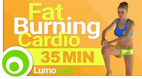 35 minute cardio workout to burn at home