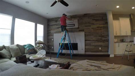 barnwood accent wall reclaimed barn wood accent wall