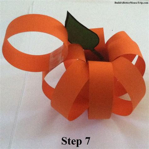 How To Make Mickey Mouse Ears With Construction Paper - mickey mouse paper pumpkin craft build a better mouse trip