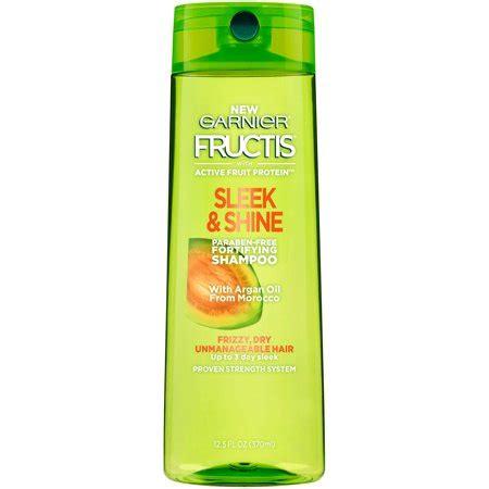 garnier fructis sleek & shine shampoo for dry & frizzy