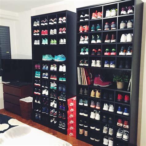 ikea sneaker shelves best 25 sneaker storage ideas on pinterest hypebeast