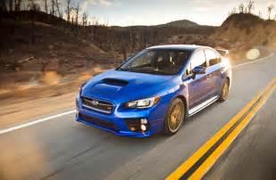 Subaru 2015 Sti 2015 Subaru Wrx Sti Test Motor Trend
