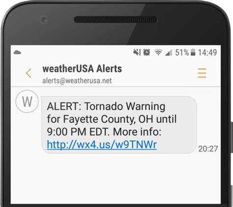 free sms alerts on mobile free weather alerts by text message and e mail