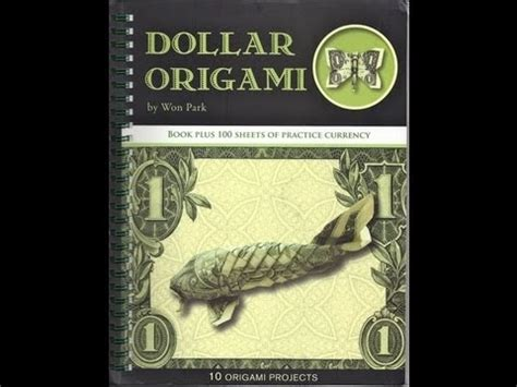 Dollar Origami Book - 107 best images about folding money and idea s on