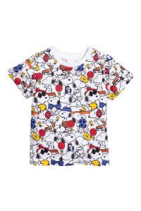 Uq Hm Set Snoopy t shirt with printed design white snoopy sale h m us