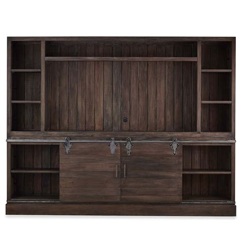 best media cabinets sonoma open top media cabinet 80 quot tv media cabinets