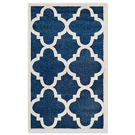Bed Bath And Beyond Outdoor Rugs Safavieh Amherst Geo Indoor Outdoor Area Rug Bed Bath Beyond