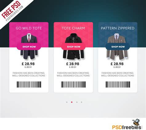 product card templates ecommerce product view card free ui psd psdfreebies