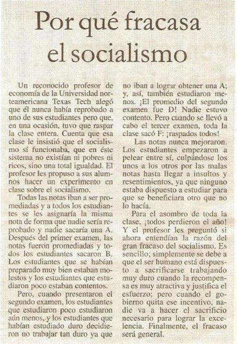 por qu fracas la por qu 233 el socialismo significa el fracaso general de la sociedad rankia
