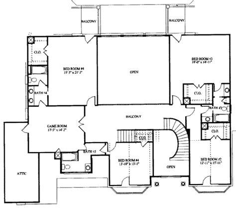 7 bedroom floor plans european style house plan 7 beds 6 50 baths 5954 sq ft