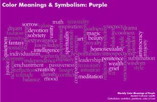 what is the color purple about color meanings color symbolism meaning of colors