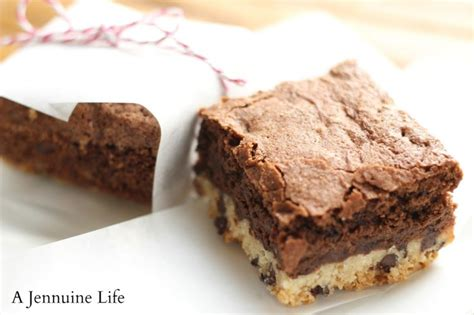 shortbread brownies a jennuine life