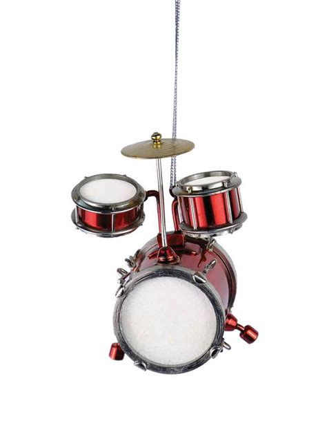 buy red junior drum set ornament music gift christmas