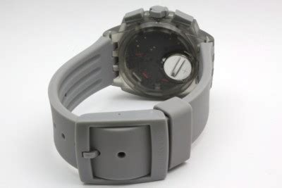 New Packing Afroskin Original Limited new swatch gray chronograph date 44mm