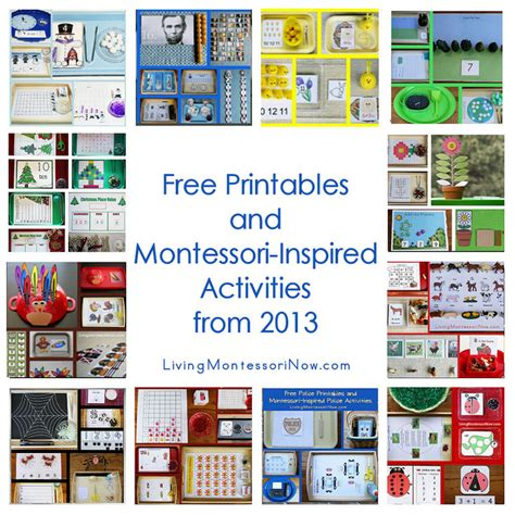 printable montessori materials free montessori printable downloads math worksheets 187